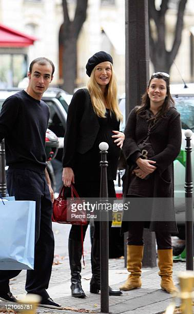 Karen Mulder during Karen Mulder Sighting in Paris October 13 2006 at Paris in Paris France