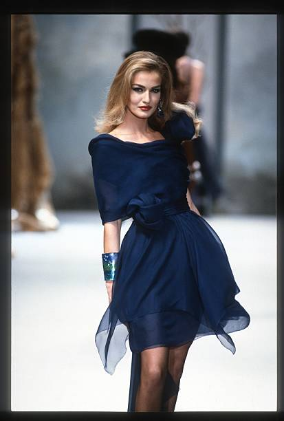 Chanel Runway Haute Couture Fall Winter 1991 1992
