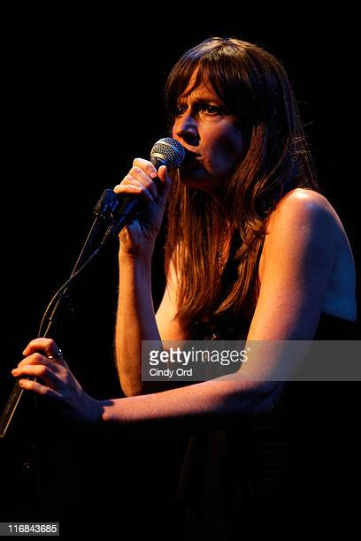 Karen Nielsen performs at her Album Release Party at the Dominion Theater on June 17 2011 in New York City