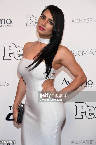 Karen Paba arrives at People en Espanol's 50 Most Beautiful Gala 2017 at Espace on May 16 2017 in New York City