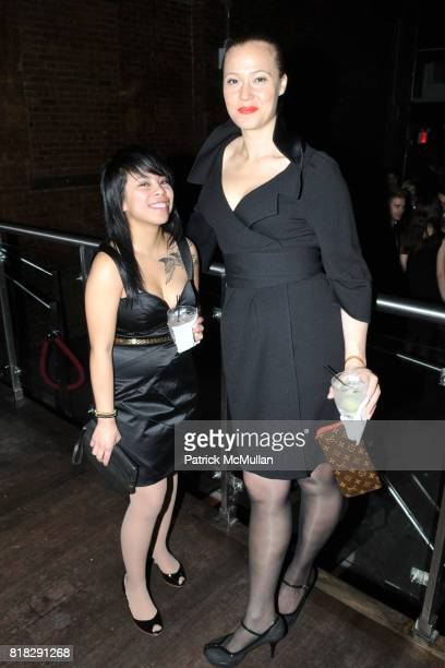 Karen Pancho and Alicia Manns attend HER NAME IS ZELDA An Evening Celebrating Ms ZELDA KAPLAN at 609 W 29th St on February 24 2010 in New York City
