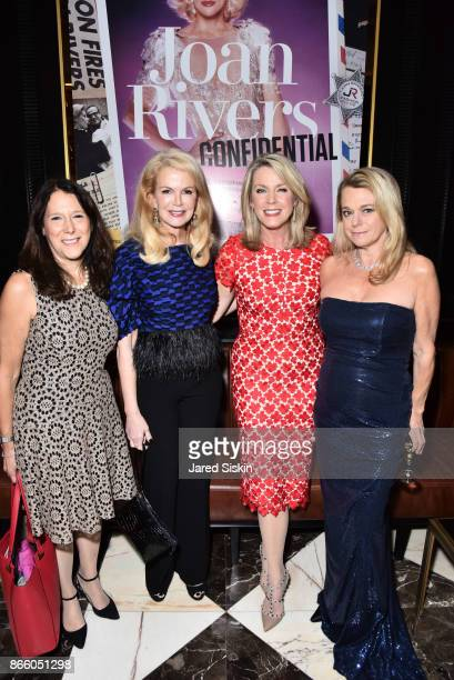 Karen Pearl Blaine Trump Deborah Norville and Debbie Bancroft attend The Launch of 'Joan Rivers Confidential' published by Abrams at Maxwell's...