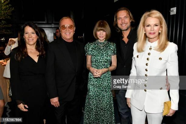 Karen Pearl Michael Kors Anna Wintour Lance LePere and Blaine Trump attend God's Love We Deliver Golden Heart Awards on October 21 2019 in New York...