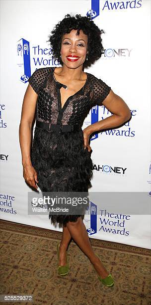 Karen Pittman attending the The 71st Annual Theatre World Awards at The Lyric Theatre on June 1 2015 in New York City
