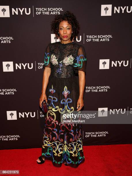 Karen Pittman attends NYU Tisch School of the Arts' 2017 Gala at Cipriani 42nd Street on April 3 2017 in New York City