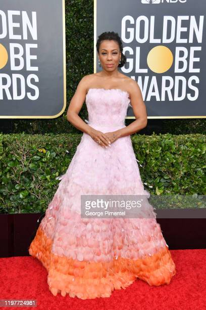 Karen Pittman attends the 77th Annual Golden Globe Awards at The Beverly Hilton Hotel on January 05, 2020 in Beverly Hills, California.