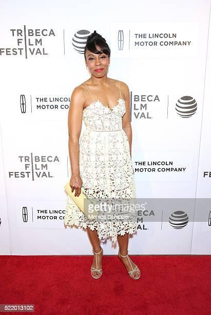 Karen Pittman attends the Custody Premiere 2016 Tribeca Film Festival at BMCC John Zuccotti Theater on April 17 2016 in New York City