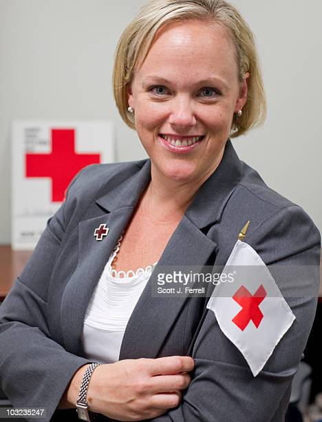 Karen Quarles director of federal relations for the American Red Cross at the Washington headquarters