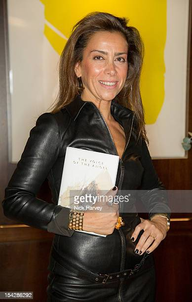 Karen Ruimy attends the Karen Ruimy book launch party at The Groucho Club on October 17 2012 in London England