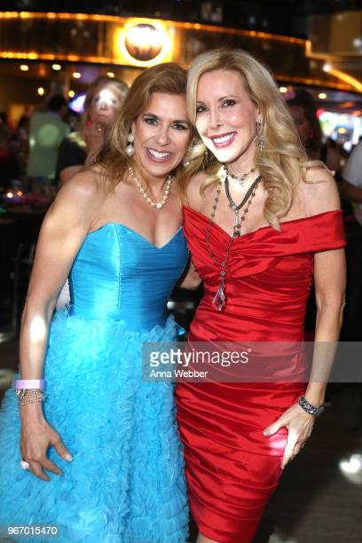Karen Segal and Kimberly Woolen attend Nashville '80s Dance Party benefiting The Alzheimer's Association at Wildhorse Saloon on June 3 2018 in...