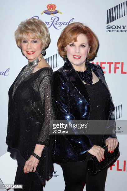 Karen Sharpe and Kat Kramer attend The African American Film Critics Association's 11th Annual AAFCA Awards at Taglyan Cultural Complex on January 22...