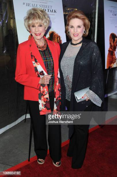 Karen Sharpe Kramer and Kat Kramer arrive at Los Angeles Special Screening Of Annapurna's If Beale Street Could Talk on December 4 2018 in Los...