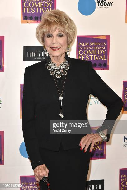 Karen Sharpe Kramer attends The Inaugural Palm Springs International Comedy Festival Dinner Gala at Hotel Zoso on November 10 2018 in Palm Springs...