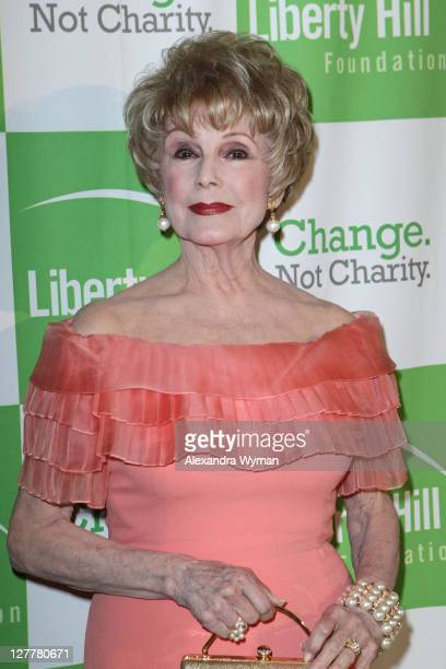 Karen SharpeKramer at The Liberty Hill's Upton Sinclair Awards Dinner at The Beverly Hilton hotel on May 11 2011 in Beverly Hills California
