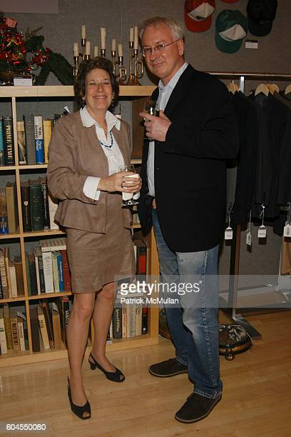 Karen Shatzkin and Stephen McKay attend BONHAM'S Private Preview and Reception Featuring The Private World of Truman Capote at Bonham's Gallery on...