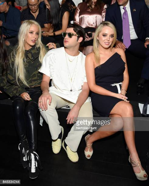 Karen Shiboleth Peter Brant Jr and Tiffany Trump attend the Taoray Wang fashion show during New York Fashion Week The Shows at Gallery 1 Skylight...