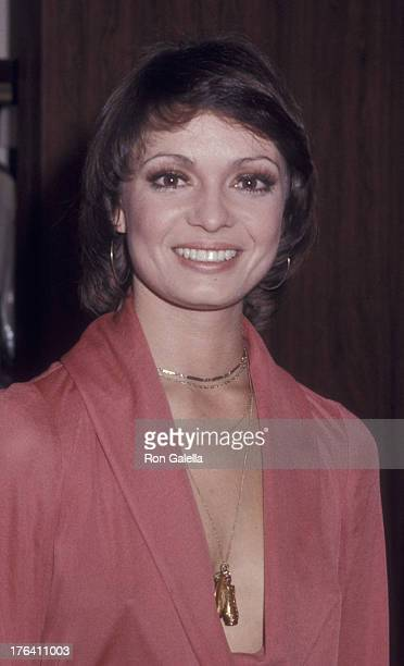 Karen Valentine attends 32nd Annual Golden Globe Awards on January 25 1975 at the Beverly Hilton Hotel in Beverly Hills California