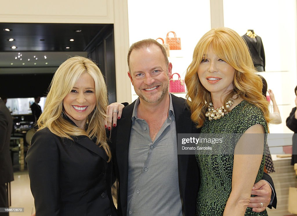 Karen Watkins, Bill Peters and Elizabeth Segerstrom attend Dior celebrates the opening of Dior Couture Patrick Demarchelier Exhibition at the Dior store at South Coast Plaza May 10, 2013 in Costa Mesa, California.