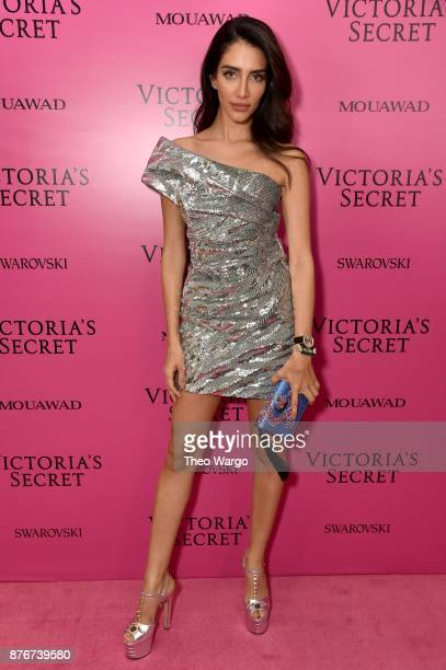 Karen Wazen attends the 2017 Victoria's Secret Fashion Show In Shanghai After Party at MercedesBenz Arena on November 20 2017 in Shanghai China