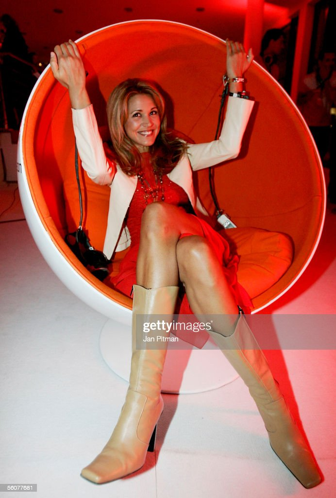 Karen Webb attends at the 'GQ Men Of The Year' award on November 3, 2005 in Munich, Germany. The fashion magazine GQ honors people from sport, business and entertainment with this annual award.