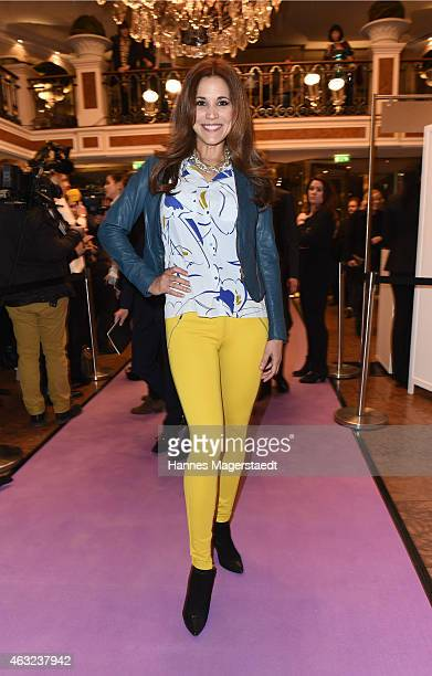 Karen Webb attends the 'Best Brands 2015 Gala Award' at Hotel Bayerischer Hof on February 11 2015 in Munich Germany