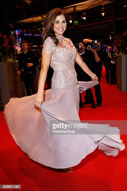 Karen Webb attends the opening party of the 66th Berlinale International Film Festival Berlin at Berlinale Palace on February 11 2016 in Berlin...