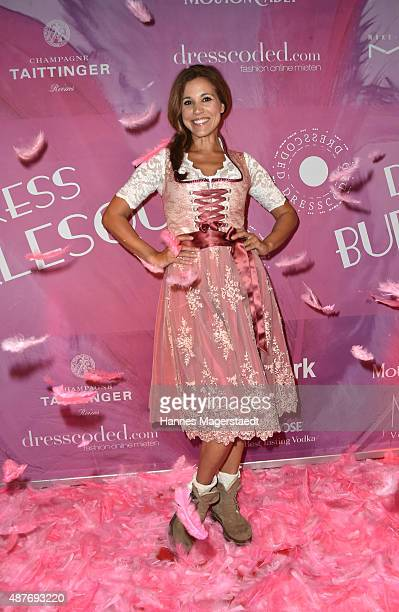 Karen Webb during the dress burlesque party by Dresscodedcom at Paradiso on September 10 2015 in Munich Germany