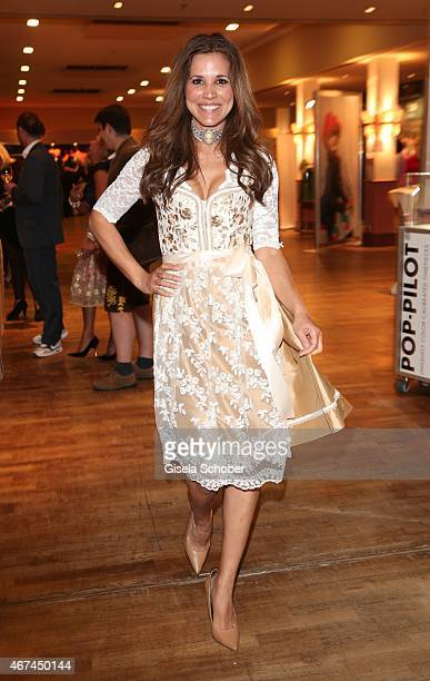 Karen Webb during the SIXT fashion dinner at Nockherberg on March 24 2015 in Munich Germany