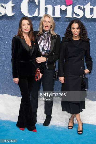 Karen Woodward and Sara Dallin attend the Last Christmas UK Premiere at BFI Southbank on November 11 2019 in London England