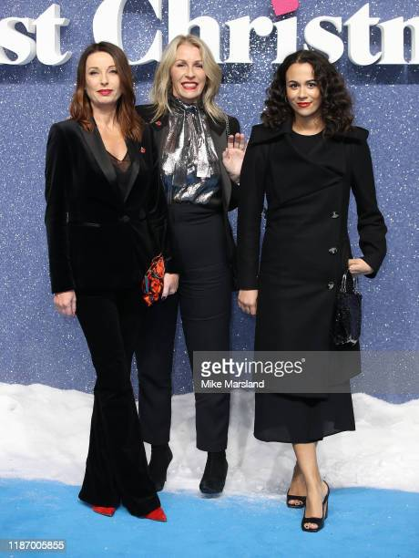Karen Woodward and Sara Dallin attends the Last Christmas UK Premiere at BFI Southbank on November 11 2019 in London England