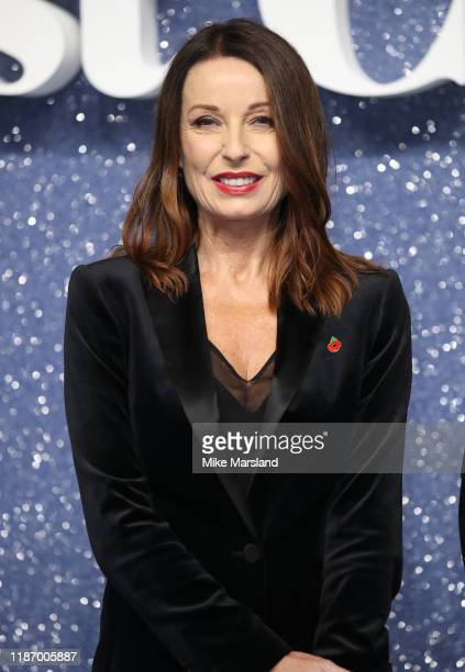 Karen Woodward attends the Last Christmas UK Premiere at BFI Southbank on November 11 2019 in London England