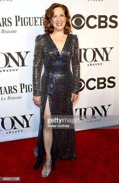 Karen Ziemba attends American Theatre Wing's 68th Annual Tony Awards at Radio City Music Hall on June 8 2014 in New York City