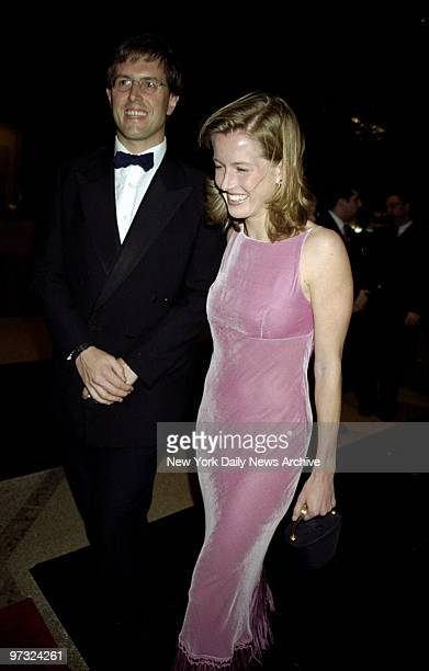 Karenna Gore Schiff and husband Drew Schiff arrive at the Costume Institute Gala Rock Style an exhibit of rock 'n' roll fashions at the Metropolitan...