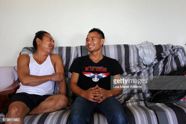 Karenni Burmese Po Ko Ko and August Htoo at their home on January 27 2017 in Tamworth Australia Tamworth is a large regional city in the New England...