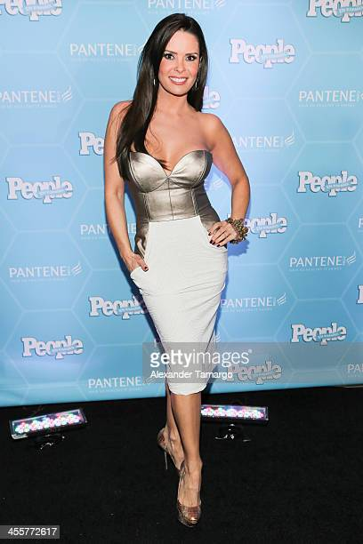 Karent Sierra arrives at the Estrellas Del Ano De People En Espanol party at The James Royal Palm Hotel on December 12 2013 in Miami Florida