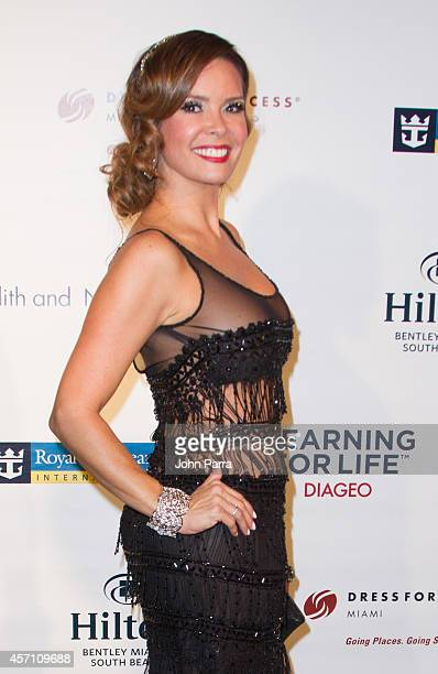Karent Sierra attends Dress for Success Miami Celebrates 20th Anniversary at The Rusty Pelican>> on October 11 2014 in Key Biscayne Florida