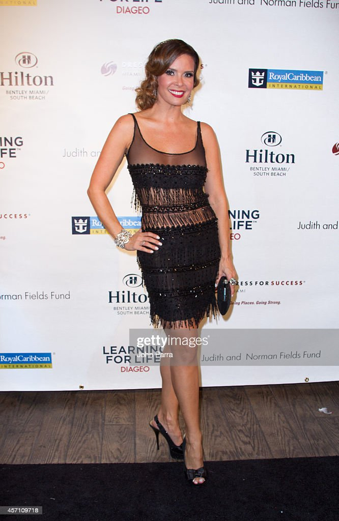 Karent Sierra attends Dress for Success Miami Celebrates 20th Anniversary at The Rusty Pelican>> on October 11, 2014 in Key Biscayne, Florida.