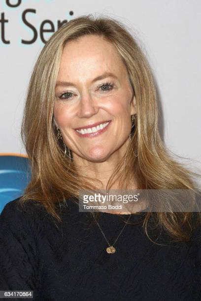 Karey Burke attends The Hollywood Radio And Television Society Presents The Newsmaker Luncheon Series A Moment In Time Must See TV at the Beverly...