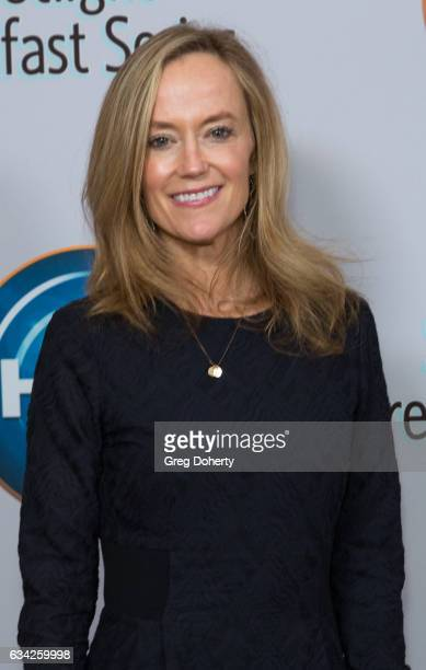 Karey Burke Executive Vice President Programming and Development at Freeform attends The Hollywood Radio And Television Society Presents The...