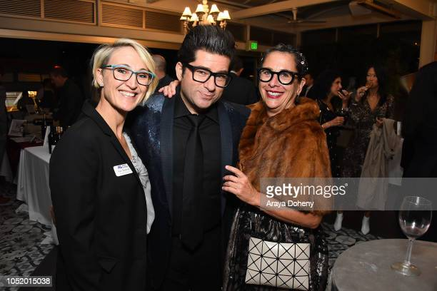 Kari Boatner and Nancy Silverton attend the March of Dimes Signatures Chefs Auction Los Angeles on October 11 2018 in Beverly Hills California