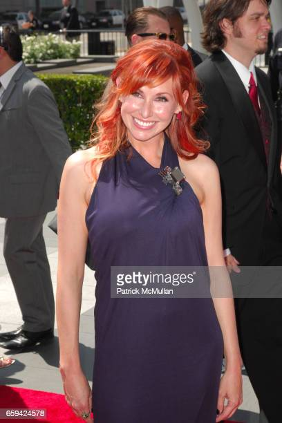 Kari Byron attends 2009 CREATIVE ARTS EMMY AWARDS at NOKIA Theatre on September 12 2009 in Los Angeles California