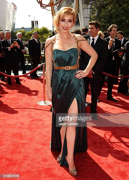 Kari Byron attends the 2011 Creative Arts Emmy Awards at Nokia Theatre LA Live on September 10 2011 in Los Angeles California