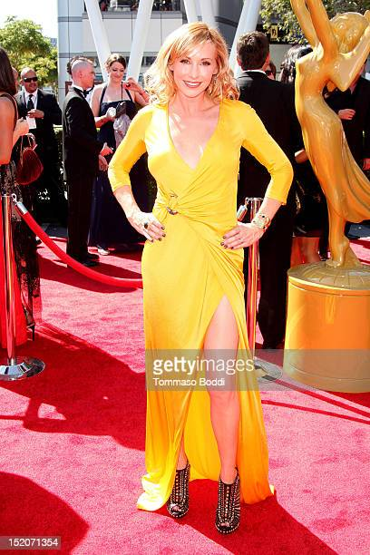 Kari Byron attends the 2012 Primetime Creative Arts Emmy Awards held at the Nokia Theatre LA Live on September 15 2012 in Los Angeles California