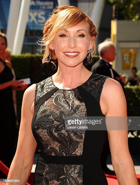 Kari Byron attends the 2013 Creative Arts Emmy Awards at Nokia Theatre LA Live on September 15 2013 in Los Angeles California