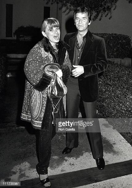 Kari Clark and Dick Clark during Diana Ross' 38th Birthday Party at Diana Ross' Home in Beverly Hills in Beverly Hills California United States