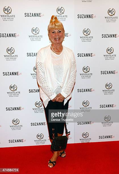 Kari Clark arrives at Suzanne Somers' residency show grand opening at Westgate Hotel and Casino on May 23 2015 in Las Vegas Nevada