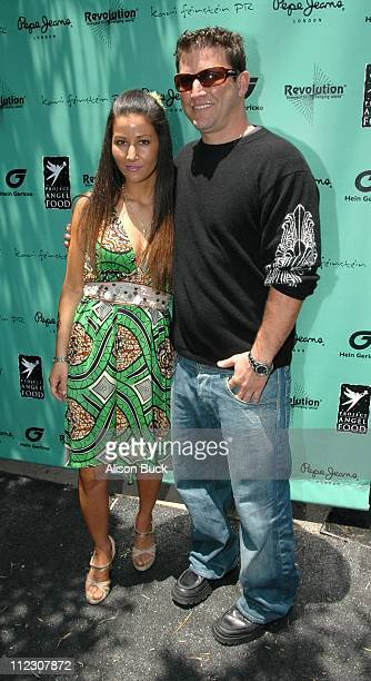 Kari Feinstein and her brother Darin Feinstein during KARI FEINSTEIN PR Presents STYLE LOUNGE Benefiting Project Angel Food Day 2 in Los Angeles...