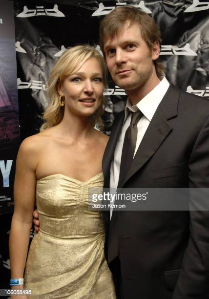 Kari Matchett and Peter Krause during 5th Annual Tribeca Film Festival 'Civic Duty' Premiere After Party at BED Nightclub in New York City New York...