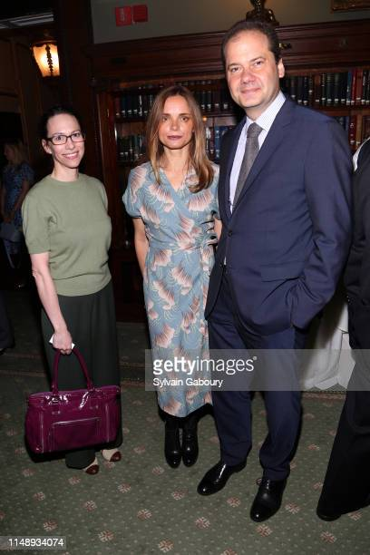 Kari Matz , Nina Hollein and Max Hollein attend AAF Cultural Luncheon at The Metropolitan Club on May 13, 2019 in New York City.