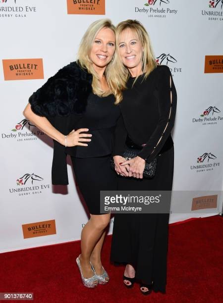 Kari Michaelsen and Brigitte Johnston attend the SixthAnnual Star Studded Unbridled Eve Gala at Bardot on January 4 2018 in Hollywood California
